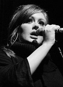 adele, performance, live on stage, singing