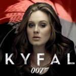 adele, skyfall, sheet music, piano notes, score, music, james bond, movie, soundtrack